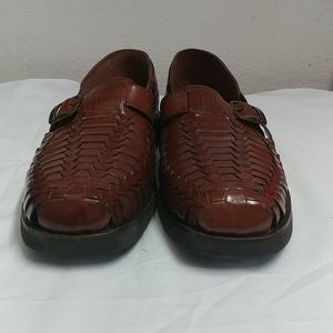 Brown Sunstep Slip-on shoes